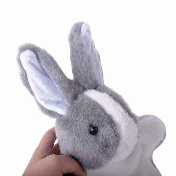 "Rabbit Hand Puppet (Stuffed Rabbit /Plush Rabbit /Animal Bunny Toy Gift)[10"" /25cm]"