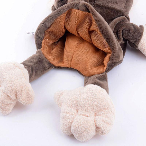 "Monkey Hand Puppet (Stuffed Monkey /Plush Monkey /Kids Monkey Toy Gift)[7.8"" /20cm]"