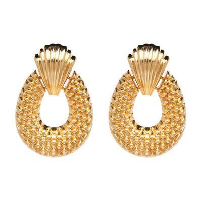 Shell & Passion Statement Earrings (4 Colors)