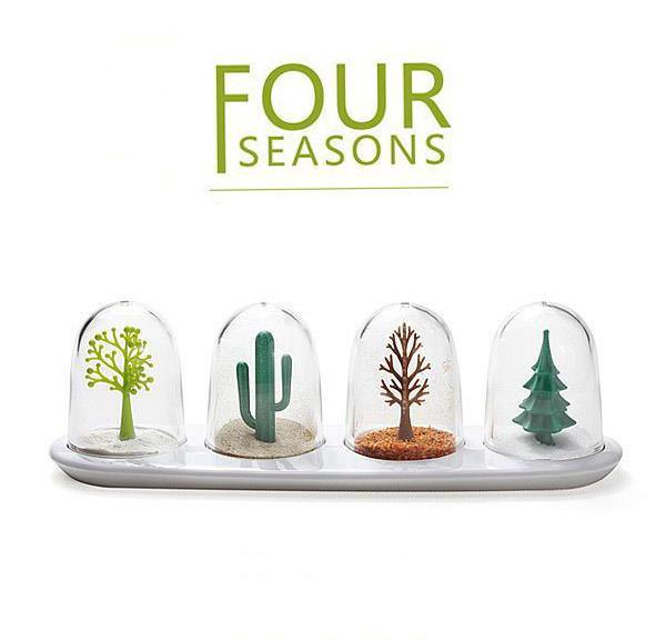 Spice Shakers Set /Seasoning Jar (Four Seasons/ Animals)