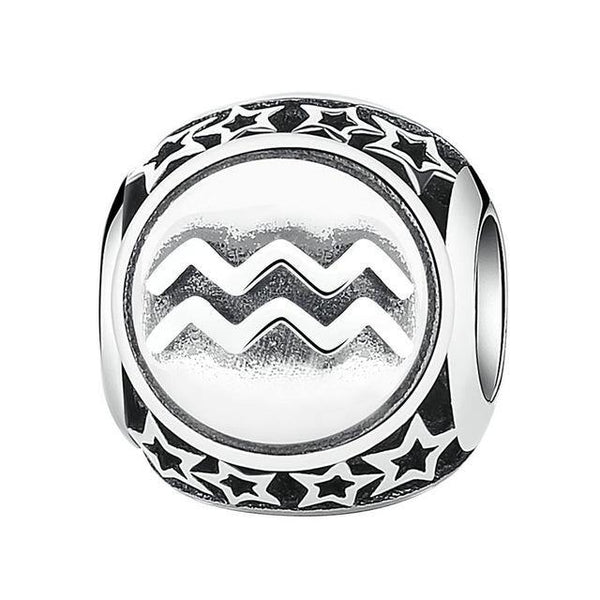 Astrological Zodiac  Signs Charm - 925 Sterling Silver