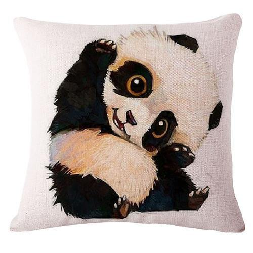 Panda Throw Pillow Cases (Decorative Cushion Covers /Accent Pillowcases)