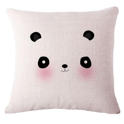 Panda Throw Pillow Cases /Decorative Cushion Covers /Accent Pillowcases