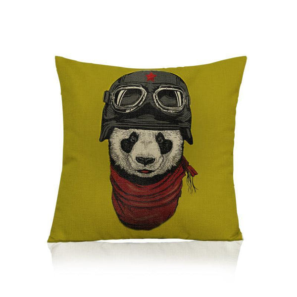 Panda Pillow Case (Accent Cushion Covers /Decorative Throw Pillowcases)[Pilot]
