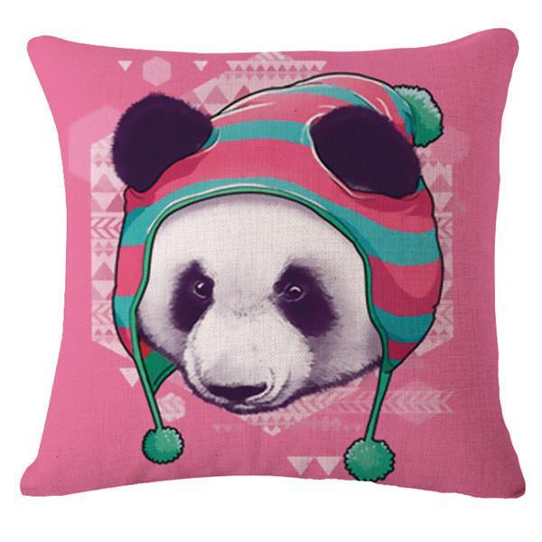 Panda Pillow Case (Decorative Throw Pillowcases /Accent Cushion Covers)