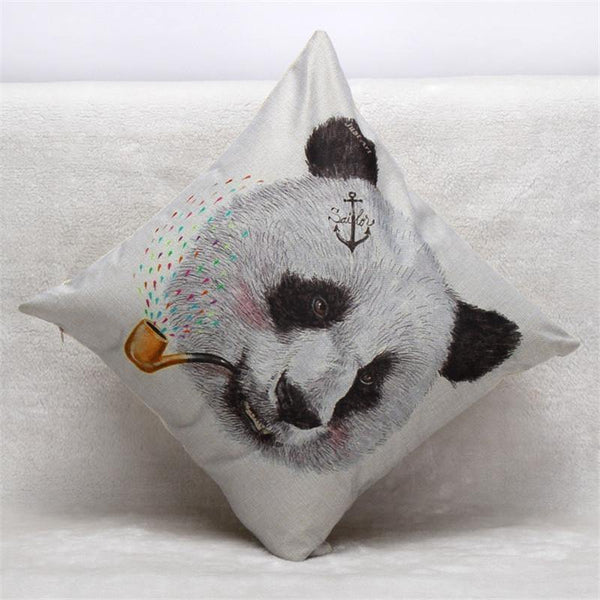 Panda Pillow Case (Accent Cushion Covers /Decorative Throw Pillowcases)
