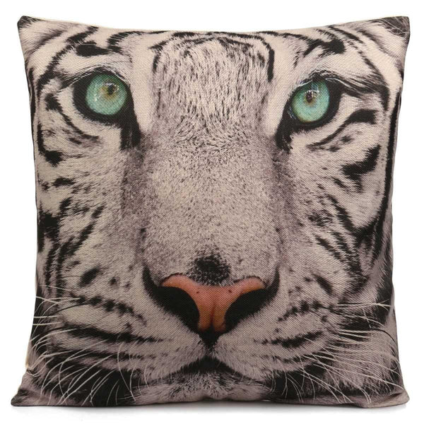 Tiger Pillow Case (3D Animal Throw Pillowcases /Accent Cushion Covers)