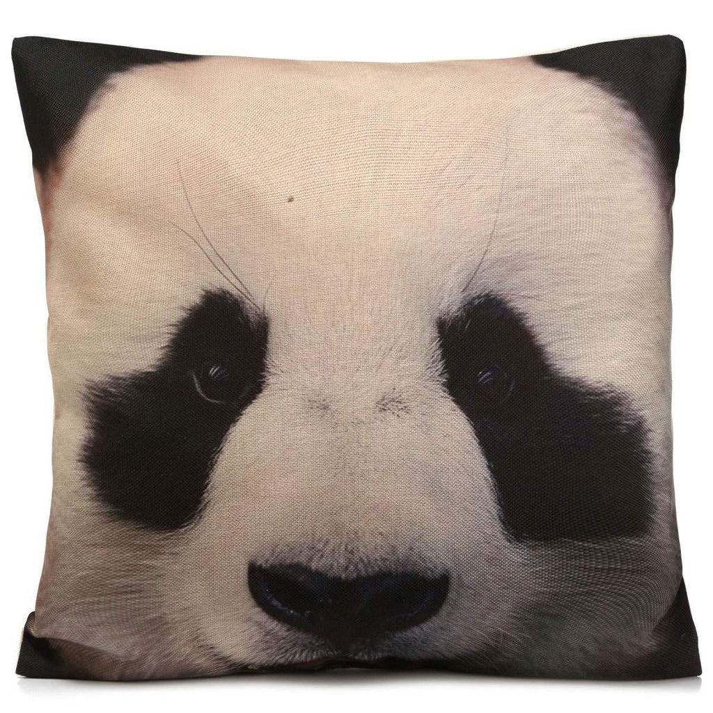 Panda Pillow Case /3D Animal Accent Cushion Cover /Pet Throw Pillowcase