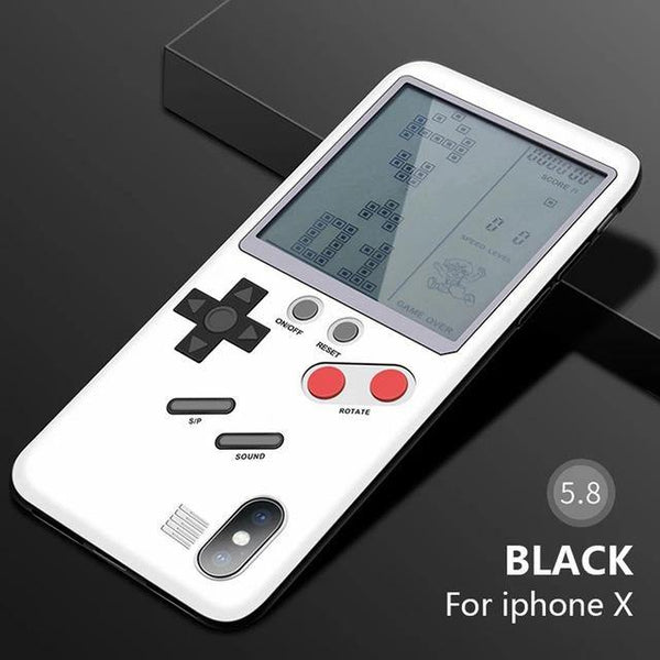 iphone cases x xs 8 plus 7 6s 6 built in games console mobile phone covers gifts cool novelty unique cool protective charmerry a12