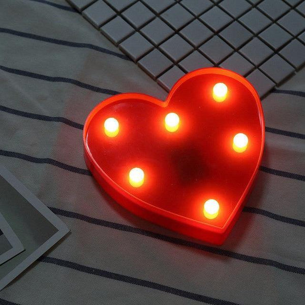 Letter Lights | LED Wedding Decor, Propose & Valentine's Day Ideas (Alphabet A to Z, Name, Words)