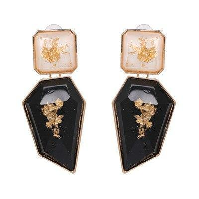 Retro Drop Statement Earring