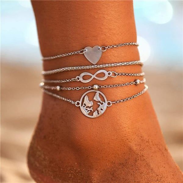Foot Jewelry - Anklets, Ankle Bracelets, Ankle Chains | Summer Outfit Additions & Accessories