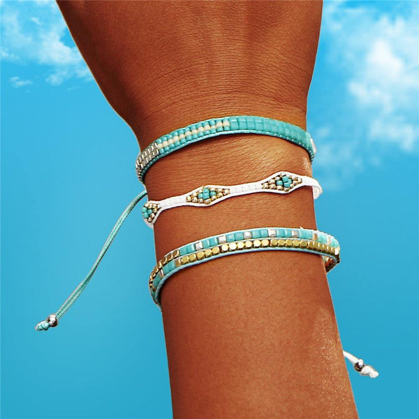 Summer Bracelets - Beach Hawaii Boho Chic Cosy Outfit Additions & Accessories CHARMERRY A05