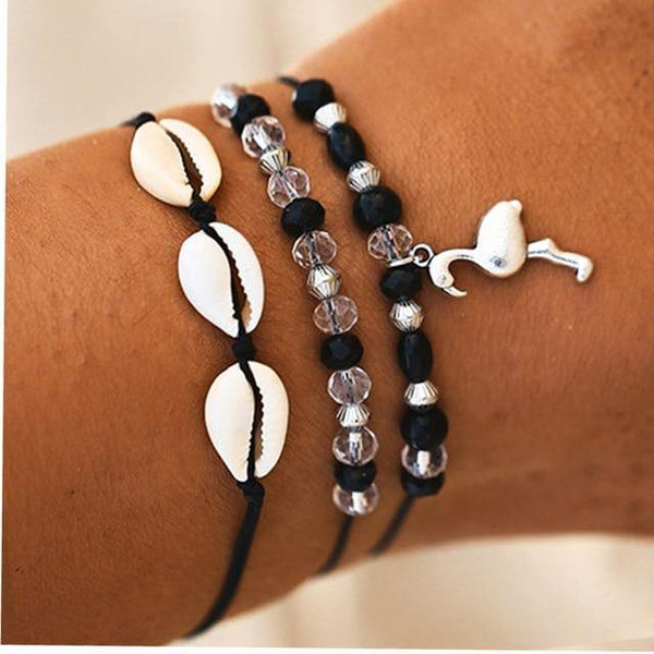 Summer Bracelets - Beach Hawaii Boho Chic Cosy Outfit Additions & Accessories CHARMERRY A07