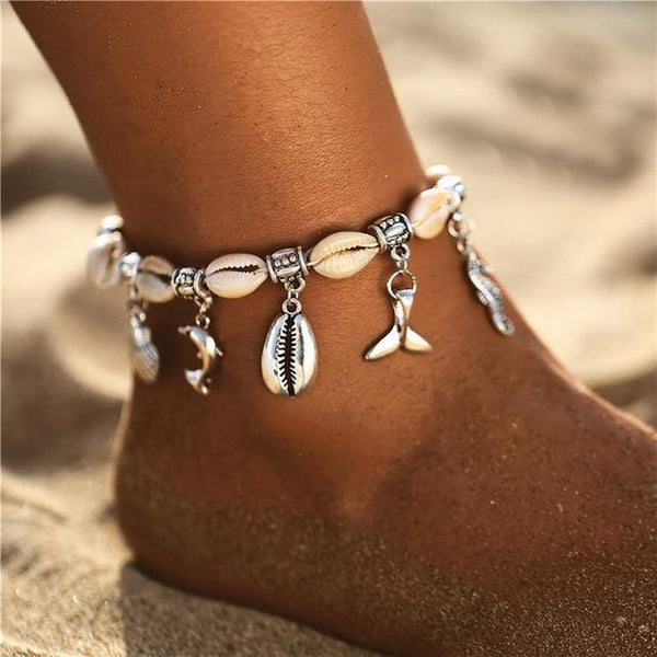 Beach Chic Anklets - Ankle Jewelry, Ankle Chains & Foot Bracelets | Outfit Additions & Accessories Charmerry b18
