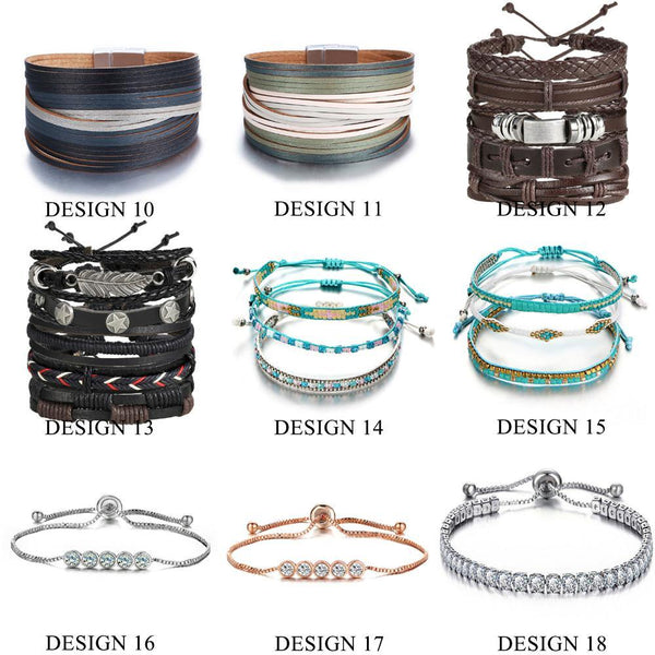 Leather Bracelets & Charm Bangles | Outfit Additions, Jewelry & Accessories (19 Styles, Fashion & Chic) Charmerry a2