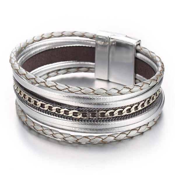 Leather Bracelets & Charm Bangles | Outfit Additions, Jewelry & Accessories (19 Styles, Fashion & Chic) Charmerry a23