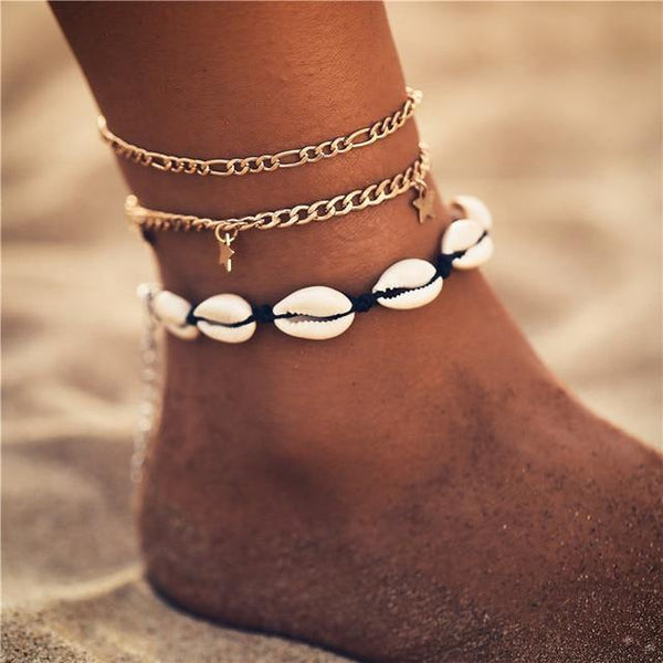 Summer Chic Anklets - Ankle Jewelry, Ankle Bracelets & Foot Chains  Outfit Additions & Accessories CHARMERRY B08