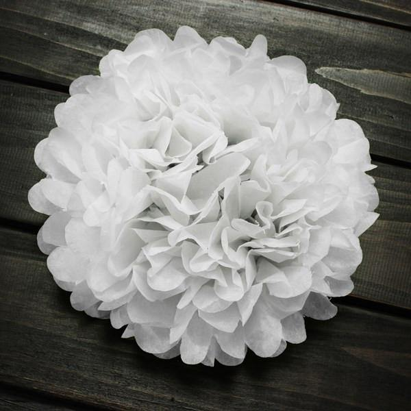 Colorful Tissue Paper Pom-poms/ Party and Wedding Decor - Charmerry