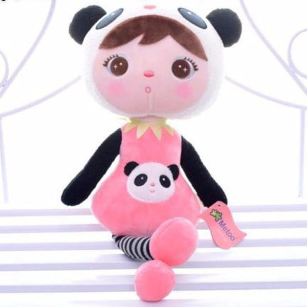 Toy Plush Toy in Panda Costume /Stuffed Toy in Panda Outfit (Gift Doll /Girl) - Charmerry