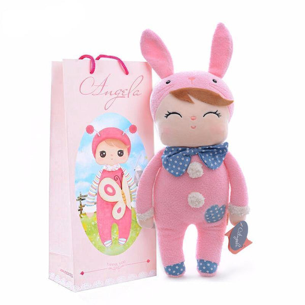 "Plush Toy /Stuffed Toy for Kid & Child (Soft Rag Doll /Baby Shower Gift) [12"" /37cm]"