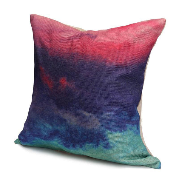 Cushion & Cover Pillow Case/ Custion Cover (Watercolor Design) - Charmerry
