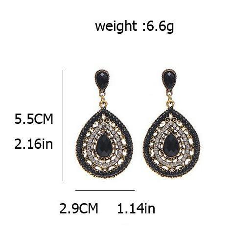 Fashion Jewelry Vintage Bohemian Beads Drop Earring - Charmerry