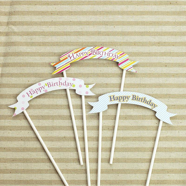 Cake Topper Cake Topper/ Birthday Cake Decoration - Charmerry