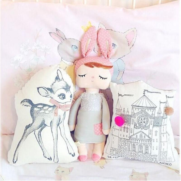 "Toy Plush Stuffed Toy /Soft Rag Doll /Cuddly Baby Shower Gift for Kid & Chid/ 12"" - Charmerry"