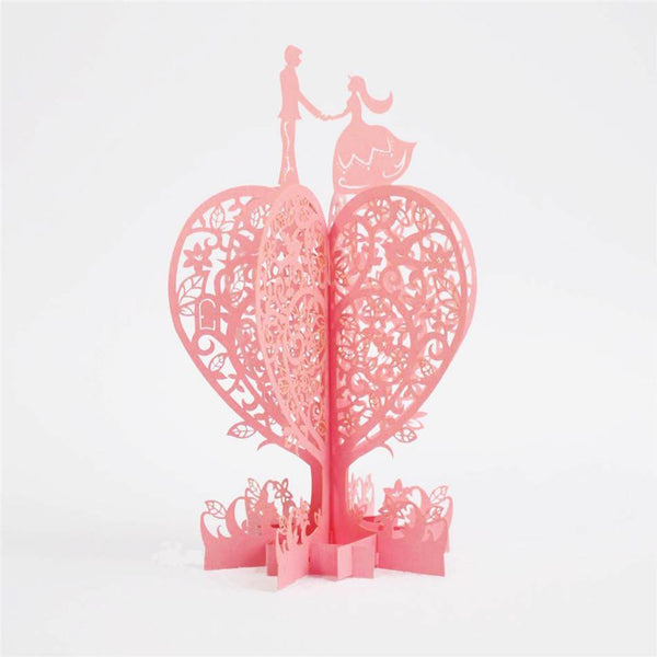 3D Pop Up Invitation & Greeting Card (Valentine /Wedding /Engagement)