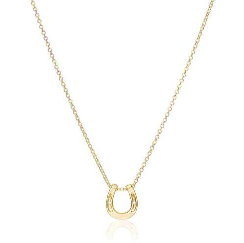 Fashion Jewelry Horseshoe Lucky Nacklace - Charmerry