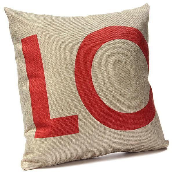 Pillow Case/ Custion Cover (Love/ Crown/ Heart)