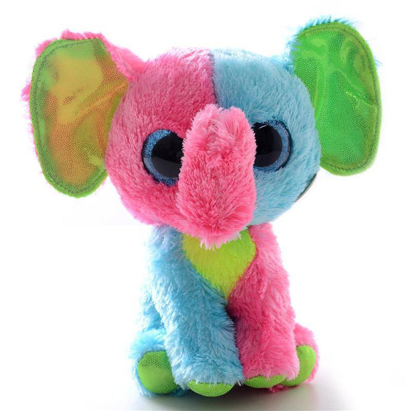 Toy Plush Animal Toy /Stuffed Animal Doll (Elephant /Zebra /Leopard /Owl) - Charmerry