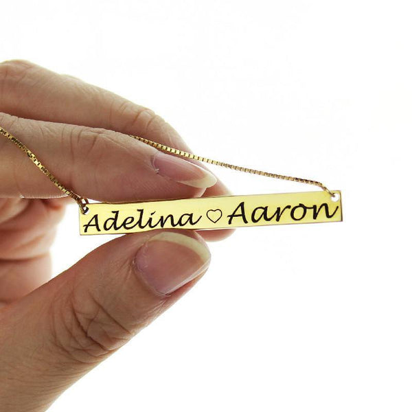 Personalized Necklace for Couple/ Fashion Jewelry