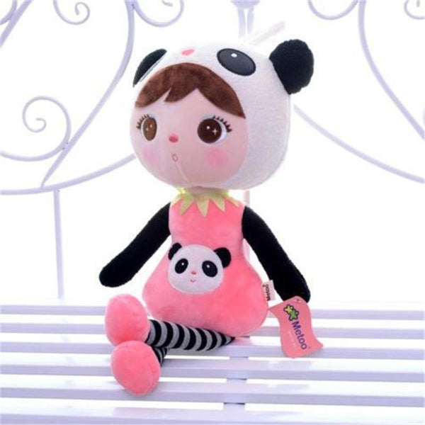 "Plush Toy in Panda Costume /Stuffed Toy in Panda Outfit (Gift Doll /Girl) [16"" /40cm]"