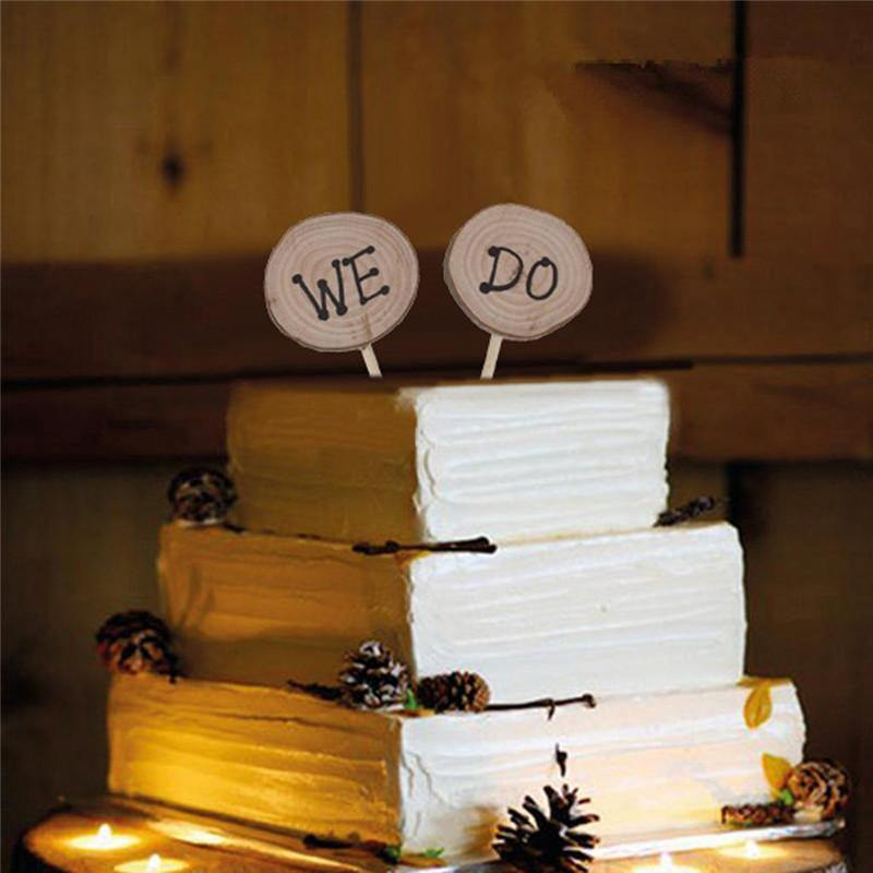 We Do Cake Topper Decoration for Wedding Marriage Engagement Party