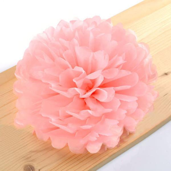 Colorful Tissue Paper Pom-poms/ Party and Wedding Decor