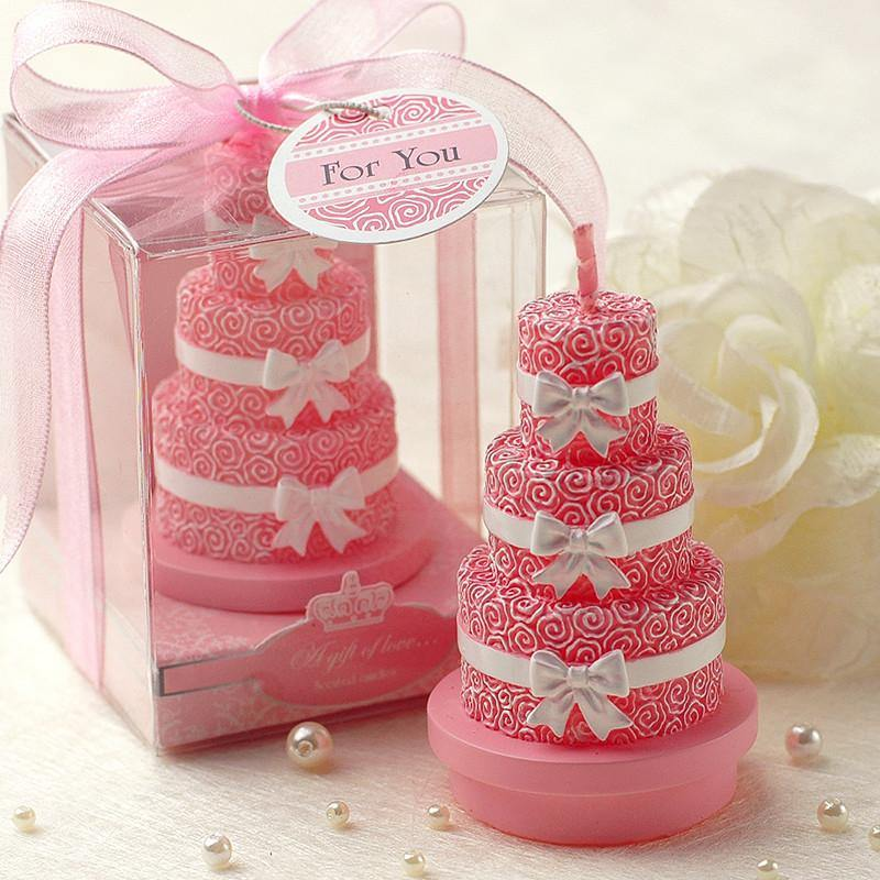 Wedding Cake Candle Gift