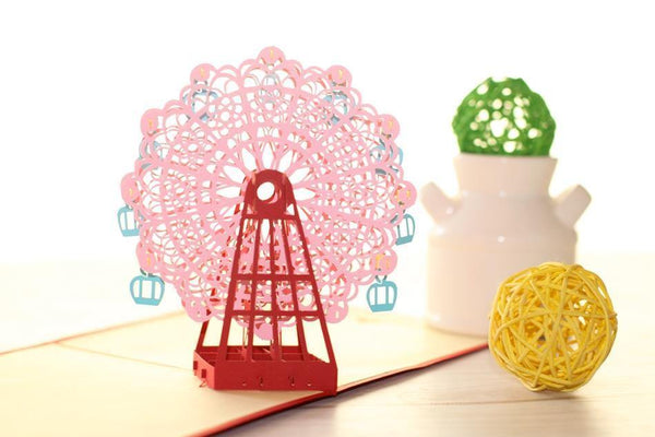 Sky Wheel Greeting Card/ 3D Pop UP