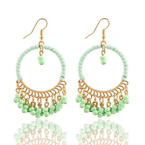 Fashion Jewelry Vintage Bohemian Drop Earring - Charmerry