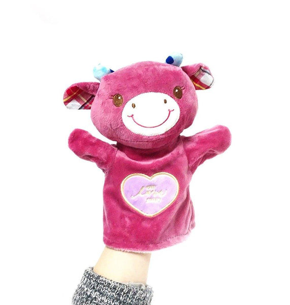 Official Metoo LOVE STORY Pink Giraffe Plush Development Hand Puppet 10''New #LNF - Charmerry