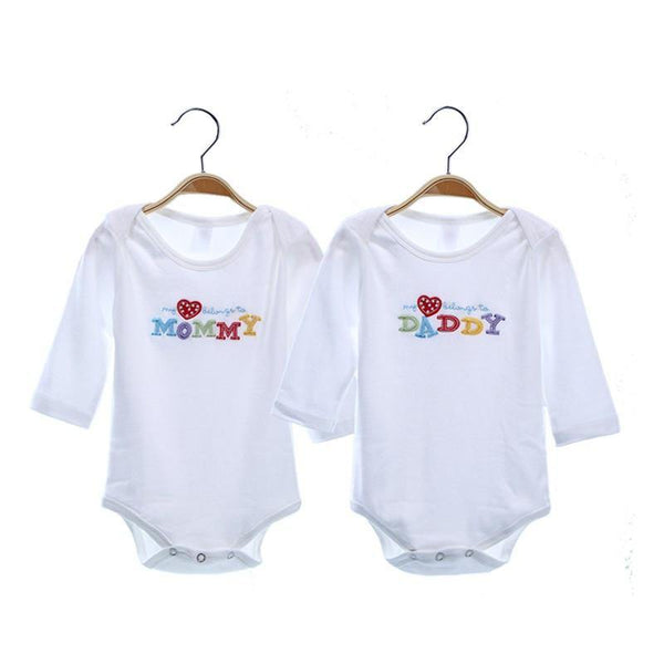 Baby Clothes Baby Clothing Rompers Long Sleeve/ Short Sleeve (2pcs/ Set) - Charmerry