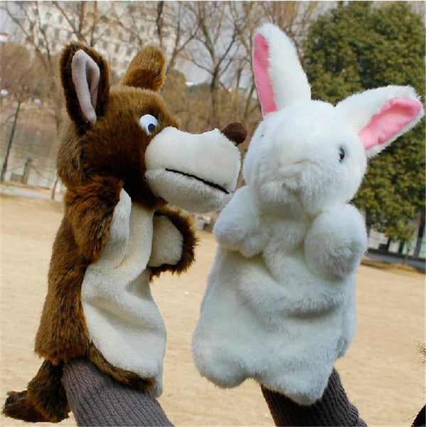 New Arrival Hand Puppets Plush Simulation  Animals Hand Puppets for Kid Child Gifts Learning Aid Toy Wholesale - Charmerry
