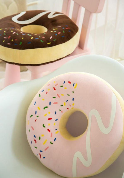 Cushion & Cover Donut Simulation Cushion/ Sweet Gift - Charmerry
