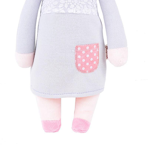 Toy Plush Toy /Stuffed Toy -Soft Rag Doll for Kid & Child (Baby Shower Gift) - Charmerry