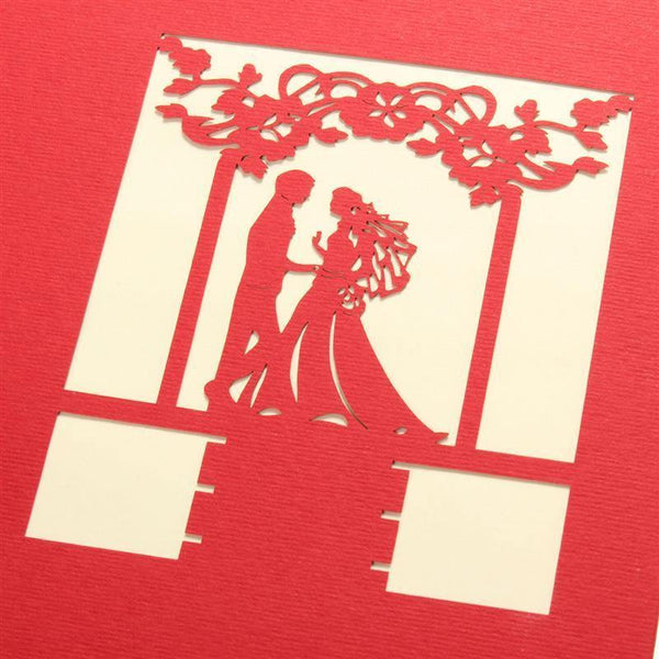 Groom and Bride Wedding Card/ Greeting Card/ Invitation Card