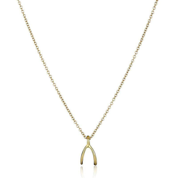 Wishbones Minimalist Necklace