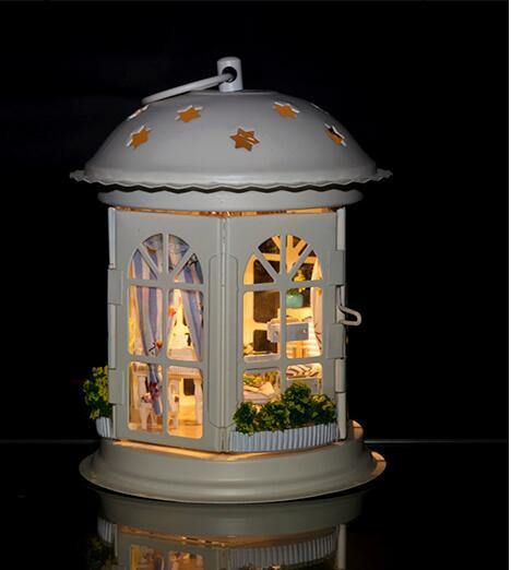 Puzzle Doll House Miniature Room - Charmerry