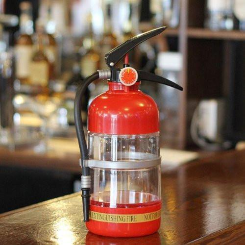 Party Supplies Fire Extinguisher Drink Dispenser/ Cocktail Shaker (1.5L) - Charmerry