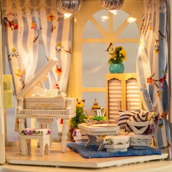 Doll House Miniature Room